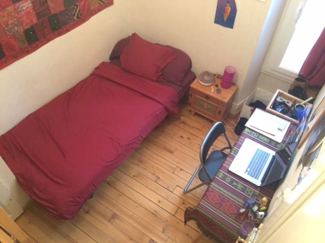 Cozy single room in shared student flat - Lausanne - Apartment