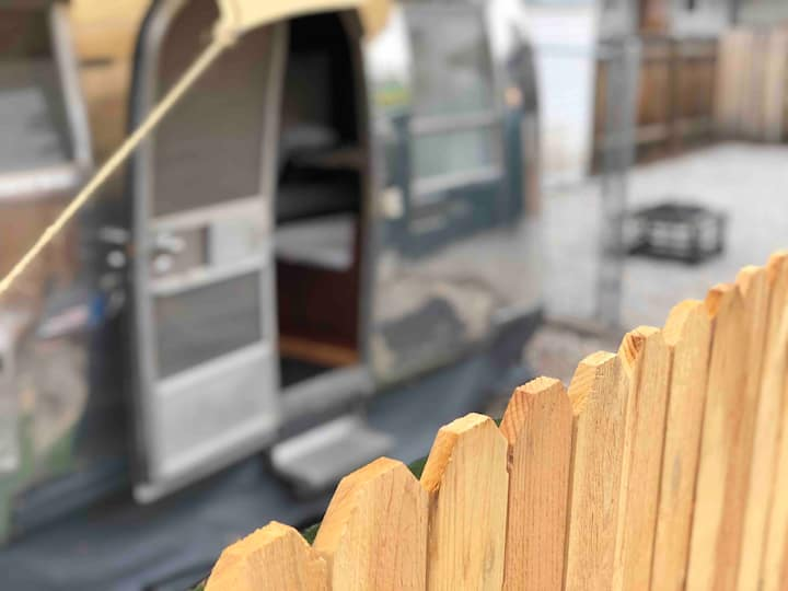 Airstream Dream CITY Glamping Experience! TinyHome