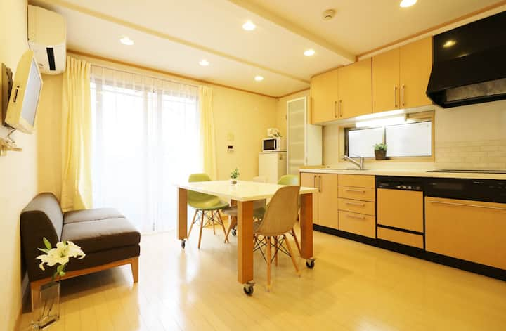 House with Hammok 3BR  Easy access Shinjuku  HNK