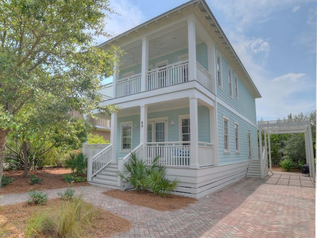 Pet-Friendly Beach Cottage on 30A! - Santa Rosa Beach - Haus