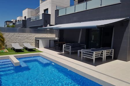 Villa with private swimmingpool & jacuzzi Rojales