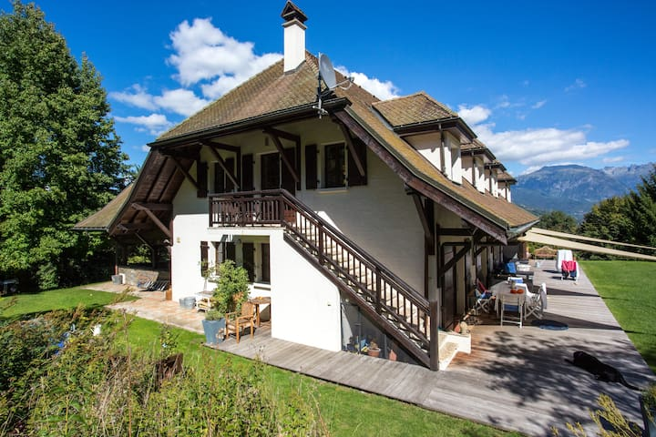Luxury Apartment with views of Mont Blanc