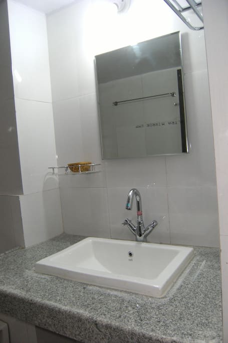 Brand new modern washrooms ensuite with all three bedrooms