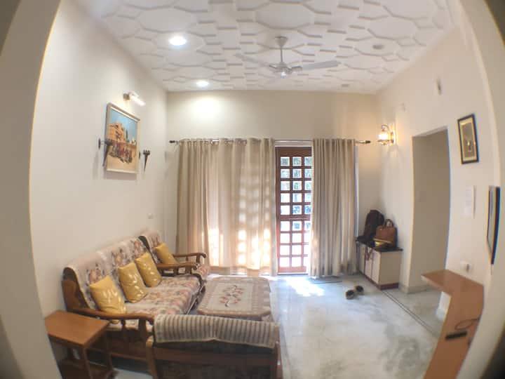 EKDANT-B modern 2-BHK apartment with classic decór