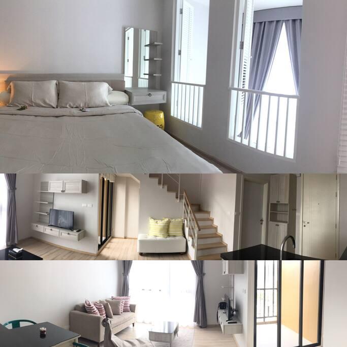 Duplex Loft Room Type on Rooftop