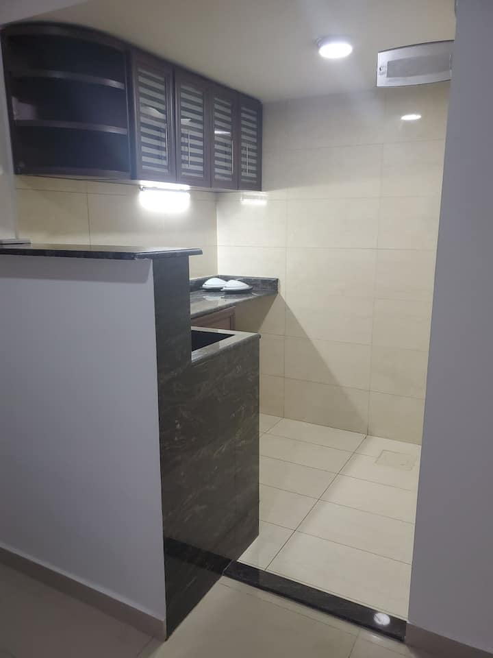 2 room modern studio apartment 3min walk to bliss