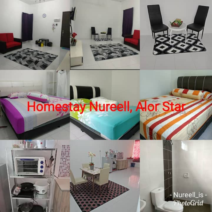 Homestay Nureell. Very Near To Transportations Hub