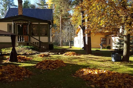 Private house in charming resort city Jurmala