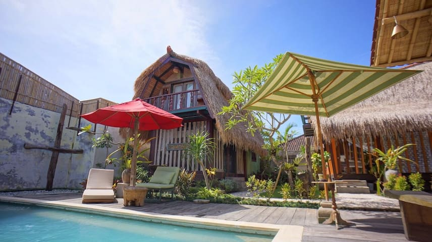 Tiny Indonesian Eco-Cottage (Deluxe) - South Denpasar