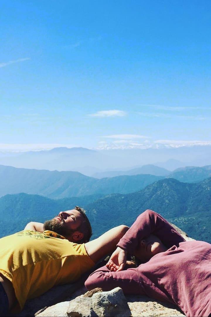 Petite sieste sur les sommets