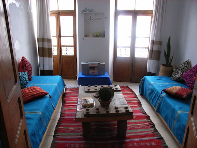 Quirky apartment with sea views!! - Essaouira - Leilighet
