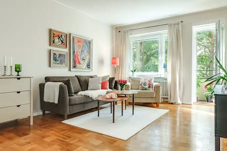 A beautiful and spacious place - Stockholm - Wohnung