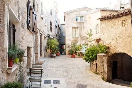Cute 1BD in medieval village - Fayence