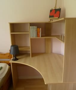 Own room/double room at horse farm - Sundsvall - Hus