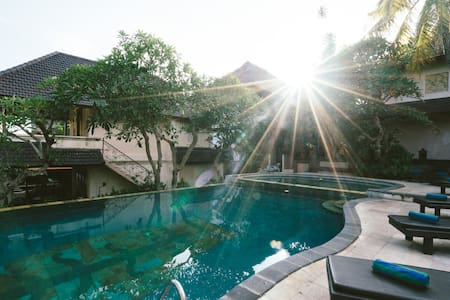 A Bali-chic oasis in the centre of town - Ubud