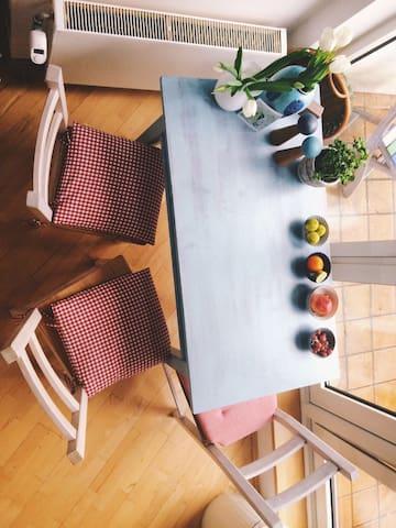 Charming stylish loft trendy area - Hambourg - Loft