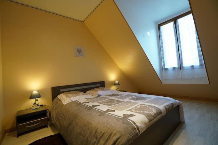 ***Chambres de 1 à 6 voyageurs proche de Tours***