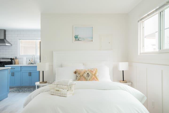 Brand-new queen-sized Serta Beautyrest mattress