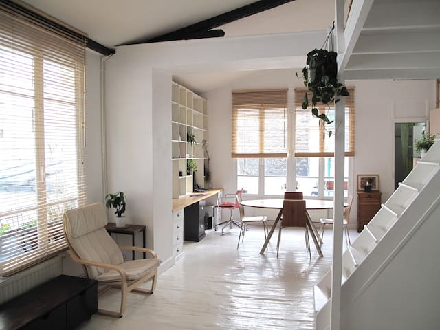 Bright & Charming loft in the 11th - París - Pis