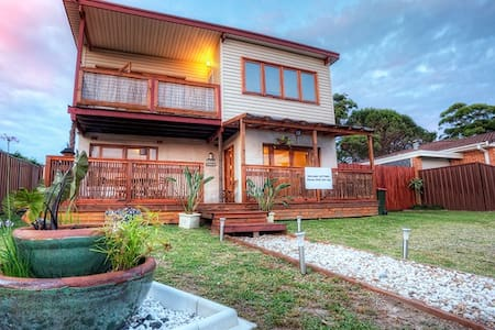 Balinese themed Holiday House  in  Jervis Bay - Callala Beach