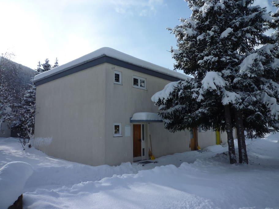 Ruhe-Oase in Davos-Dorf