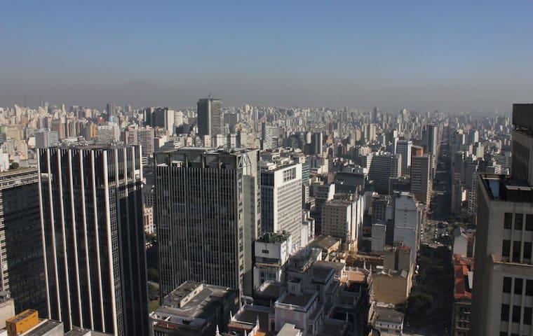 CASA  EM ANDAR SUPERIOR NO CENTRO DE SÃO PAULO