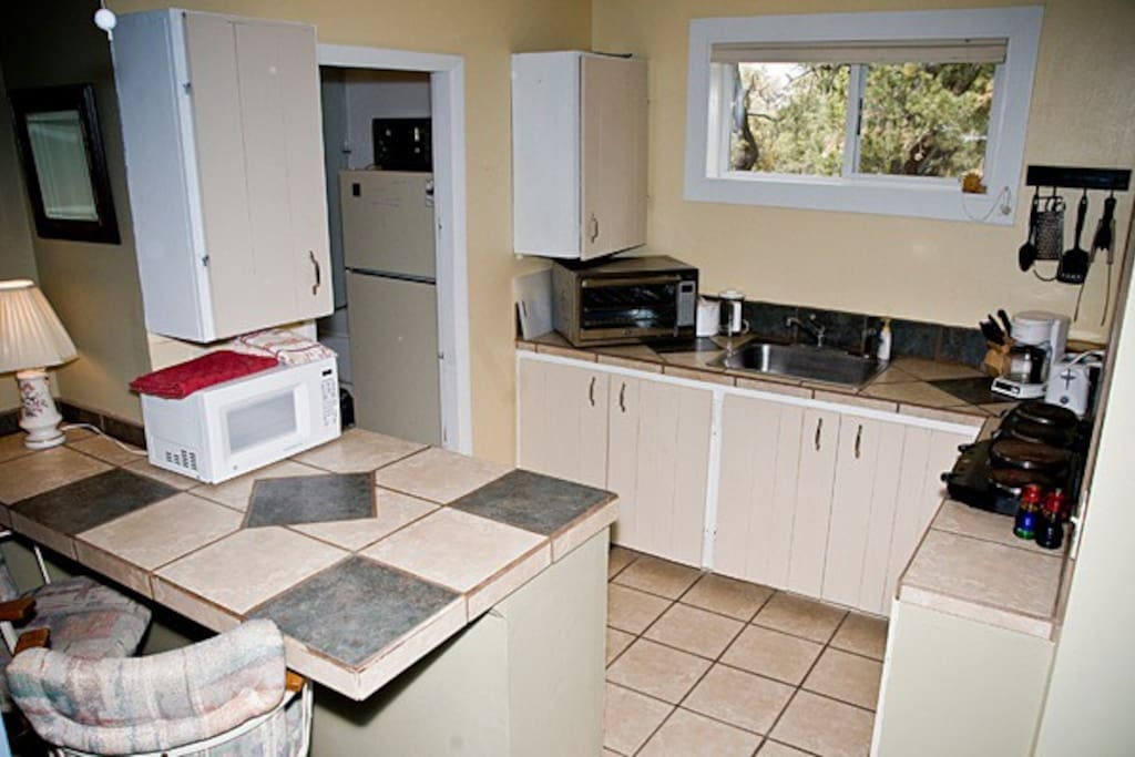Enchanted Cottaqe fully equipped kitchen