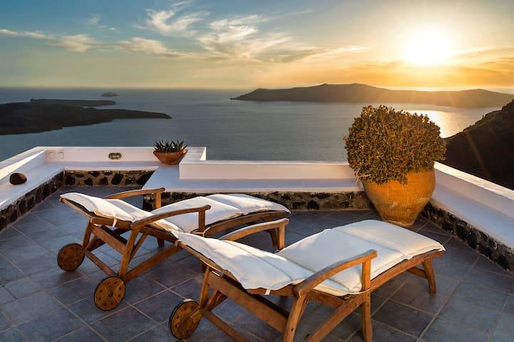 Coco & Belle villa - Amazing view  - Imerovigli - Hus