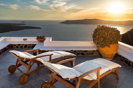 Coco & Belle villa - Amazing view  - Imerovigli