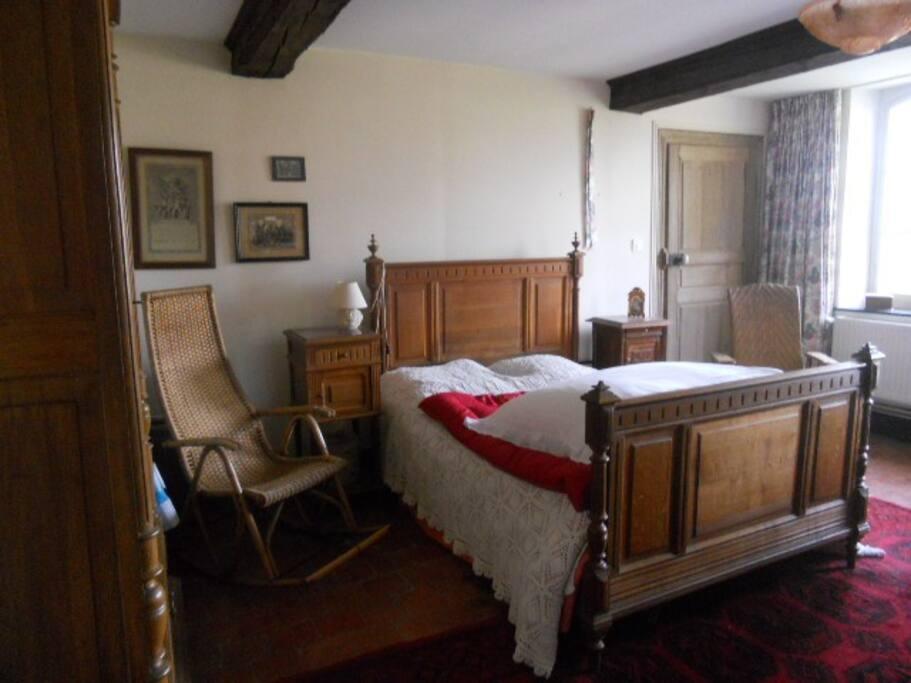 Votre chambre , spacieuse et confortable