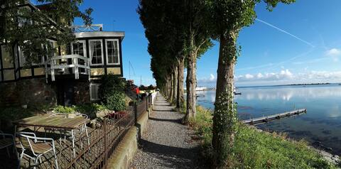 Blæsenborg - town house with fantastic sea view