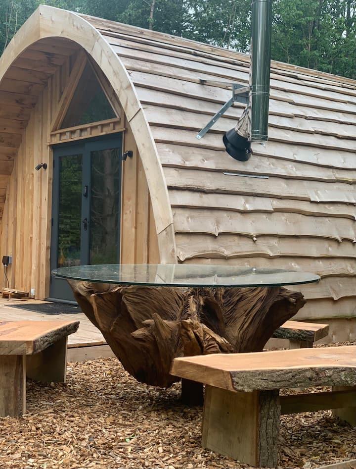 Cariad (Love) Woodland Cabin