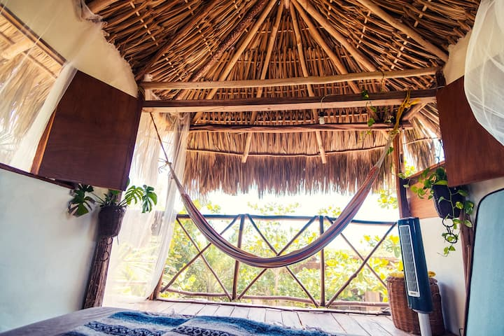 Casa KUKA. Jungle by the beach. Palapa house