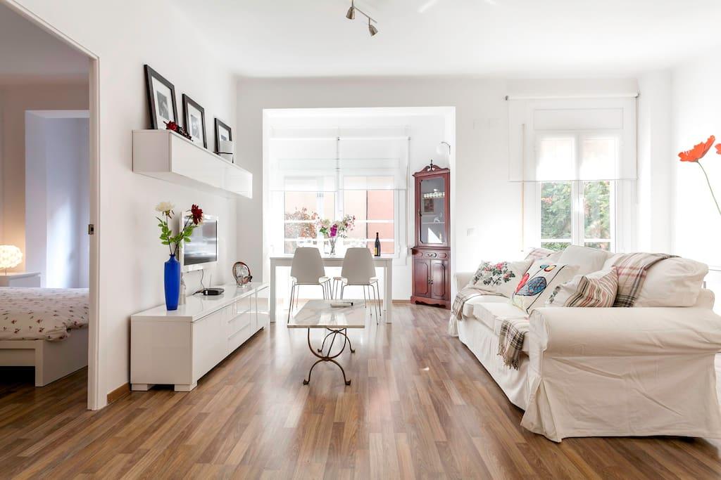 Montjuich apartment appartamenti in affitto a barcellona for Appartamenti in affitto a barcellona