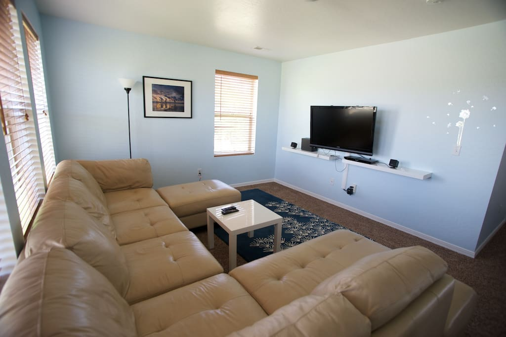 Watch your favorite DVD's, HBO or Netflix shows in one of our lofts.