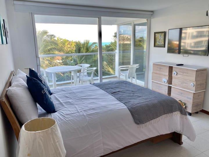 Hermoso apartamento 403 con vista al mar