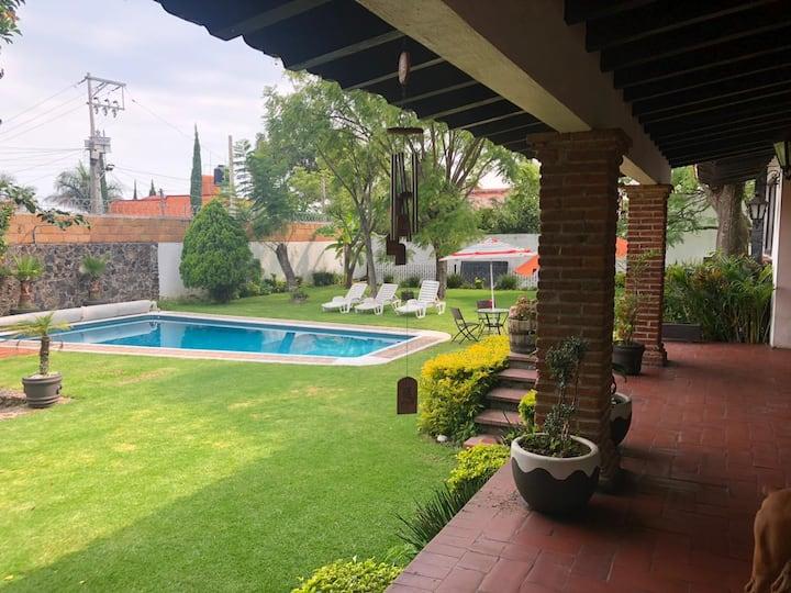 Casa ideal para vacacionar en Cuernavaca.
