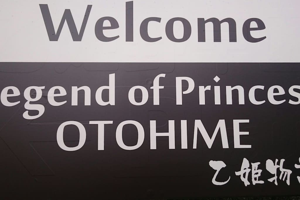 【Legend of Princess OTOHIME】 Please drive is led to the guide plate.