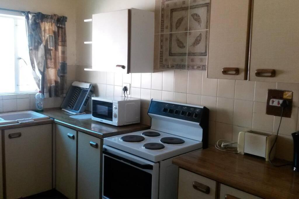 Kitchen of Quad Room