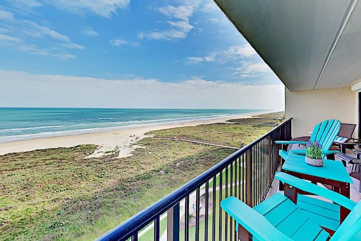 Updated Gulf-View Corner Unit | Big Balcony Views