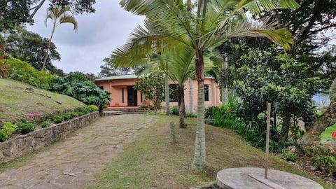 Casa de descanso en la Laguna Sagrada de Ubaque