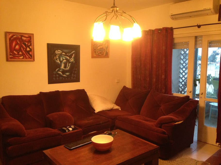 Great living room to sit, watch t.V
