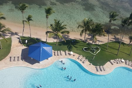 Apartamento frente al Mar en la Playa - Juan Dolio
