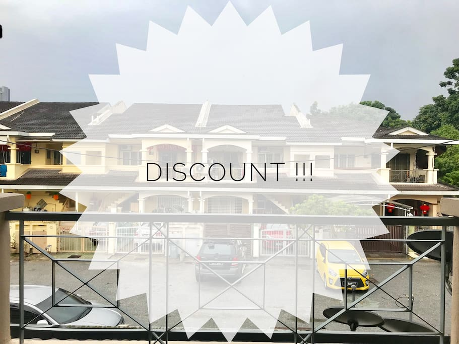 DISCOUNT! For guest who stay more than 3 nights! Grab this chance now!!!!