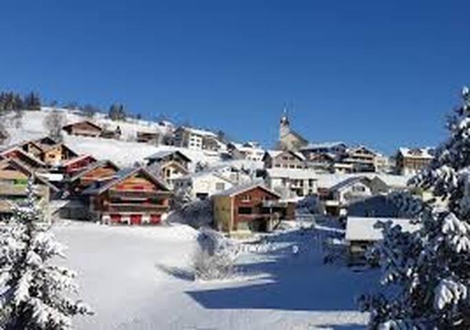 Skifahren, wandern und die Berge geniessen