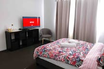 Spacious and quiet double bedroom