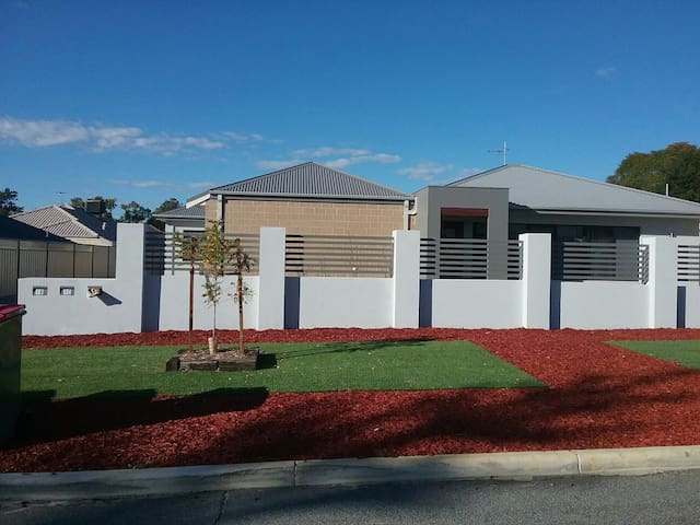 Modern room brand new house great location