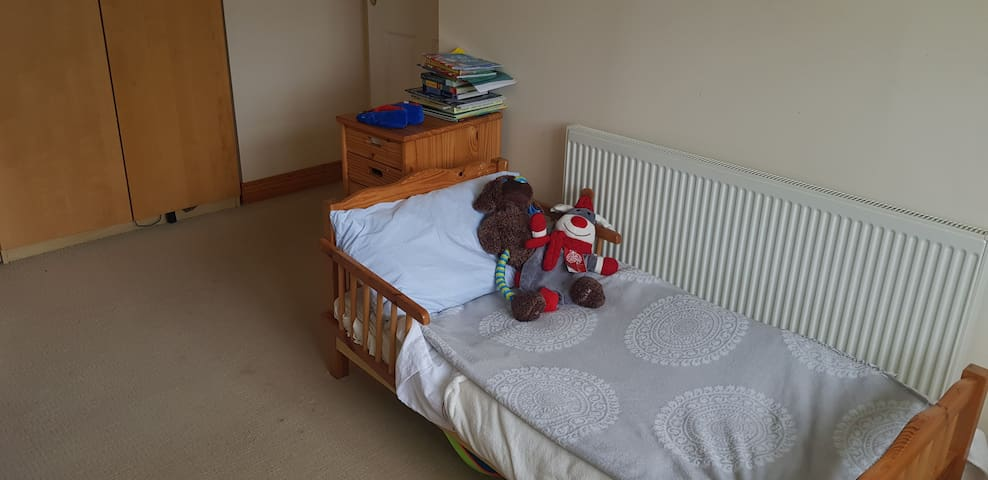 Cot bed - suitable for toddler only