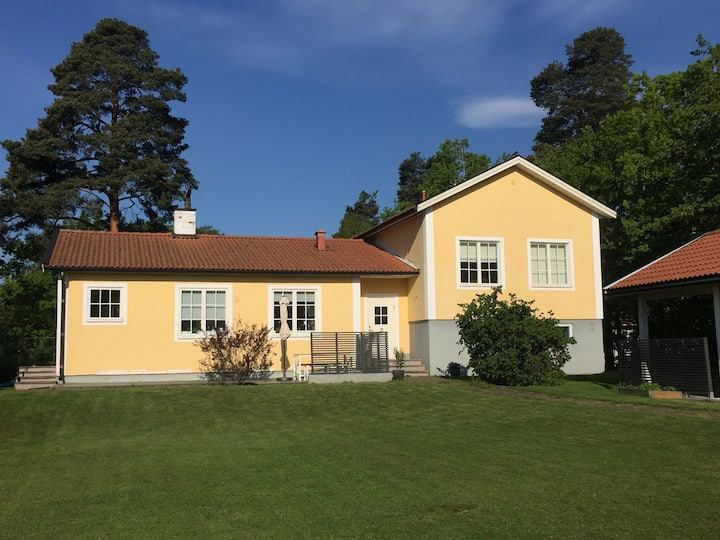 Family friendly villa in Stockholm close to nature