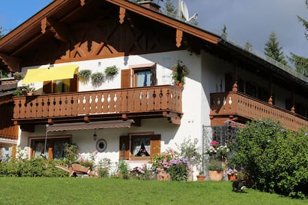 Ferienwohnung Alpspitz im Landhaus Wiesenhof - Garmisch-Partenkirchen - Apartment